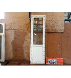 Пластиковые Двери 2160(в) х 650(ш) Балконные