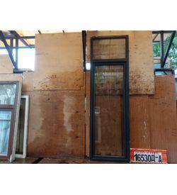 Пластиковые Двери Б/У 2780(в) х 870(ш) Балконные