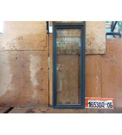 Пластиковые Двери Б/У 2250(в) х 870(ш) Балконные Неликвид