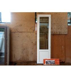 Пластиковые Двери Б/У 2360(в) х 660(ш) Балконные