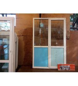 Двери Пластиковые БУ 2350(в) х 1540(ш) Балконные