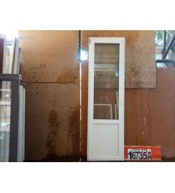 Пластиковые Двери Б/У 2410(в) х 730(ш) Балконные