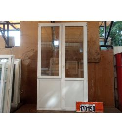 Двери Пластиковые БУ 2580(в) х 1490(ш) Балконные