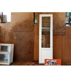 Пластиковые Двери Б/У 2380(в) х 650(ш) Балконные