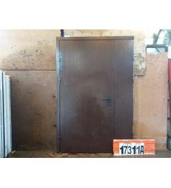 Двери Металлические Б/У 2080(в) х 1360(ш) Входные