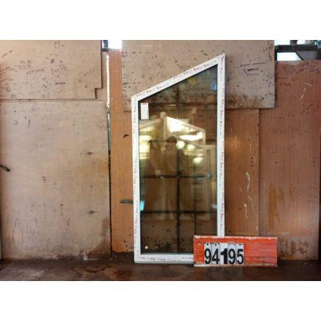 Пластиковые Окна 1900(в) х 840(ш) КБЕ Трапециевидные