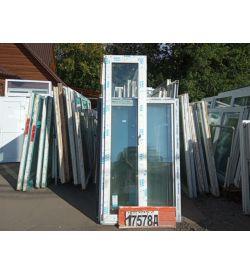 Двери Пластиковые БУ 2330(в) х 620(ш) Балконные ВЕКА