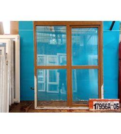 Двери Б/У Пластиковые 2170(в) х 1740(ш) Балконные Неликвид