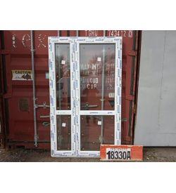 Пластиковые Двери 2100(в) х 1260(ш) Штульповые Балконные