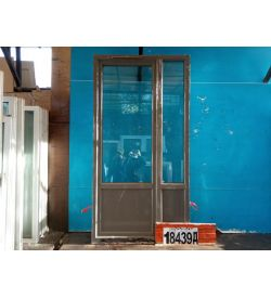 Пластиковые Двери Б/У 2350(в) х 1230(ш) Балконные