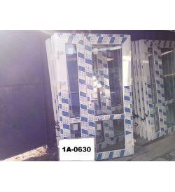Двери Готовые Пластиковые 2050(в) х 1250(ш) Штульповые Входные PROPLEX