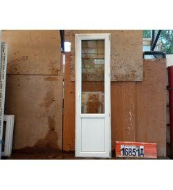 Двери Пластиковые БУ 2300(в) х 670(ш) Балконные