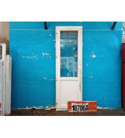 Двери Деревянные Б/У 2200(в) х 700(ш) Балконные