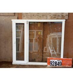 Пластиковые Окна БУ 1400(в) х 1640(ш) Некондиционные