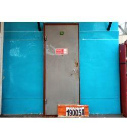 Металлические Двери Б/У 2280(в) х 890(ш) Входные
