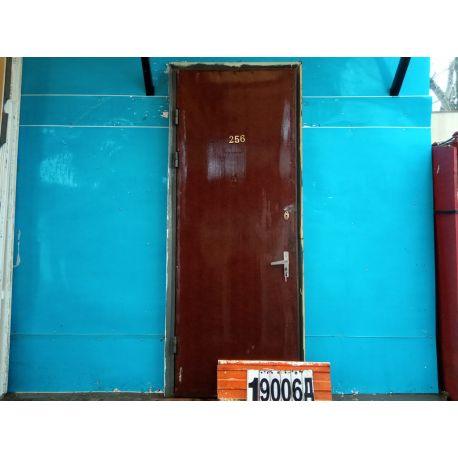 Металлические Двери Б/У 2310(в) х 890(ш) Входные