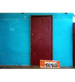 Металлические Двери Б/У 2040(в) х 900(ш) Входные