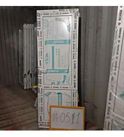Пластиковые двери 2000(в) х 700(ш) Балконные Готовые Сэндвич-панель REHAU