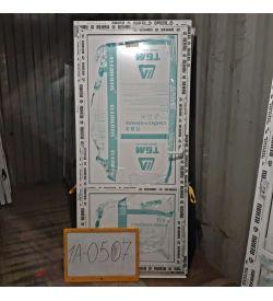 Пластиковые двери 2000(в) х 900(ш) Балконные Готовые Сэндвич-панель REHAU
