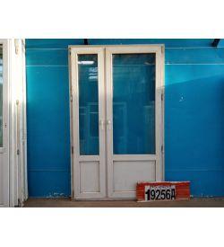 Пластиковые Двери Б/У 2160(в) х 1320(ш) Балконные
