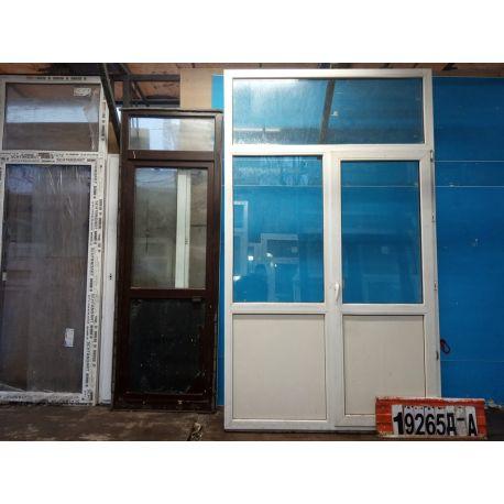 Пластиковые Двери Б/У 2620(в) х 1540(ш) Балконные
