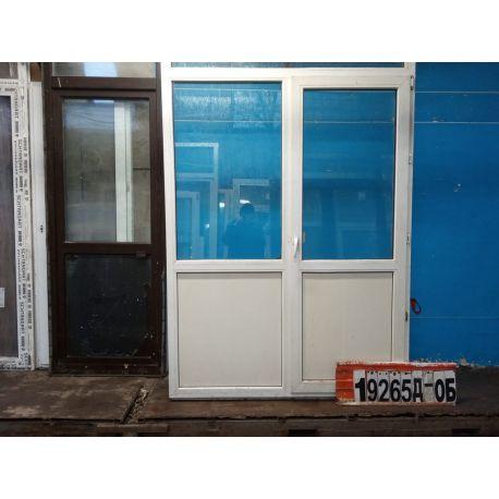 Пластиковые Двери Б/У 2060(в) х 1540(ш) Балконные Неликвид