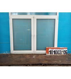 Пластиковые Окна Б/У 1330(в) х 1660(ш) Неликвид
