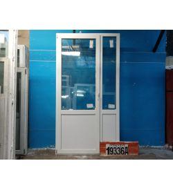 Пластиковые Двери Б/У 2390(в) х 1260(ш) Балконные