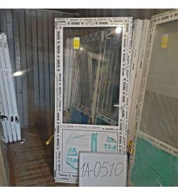 Пластиковые Двери 2000(в) х 900(ш) Балконные Готовые Стекло/Сэндвич REHAU