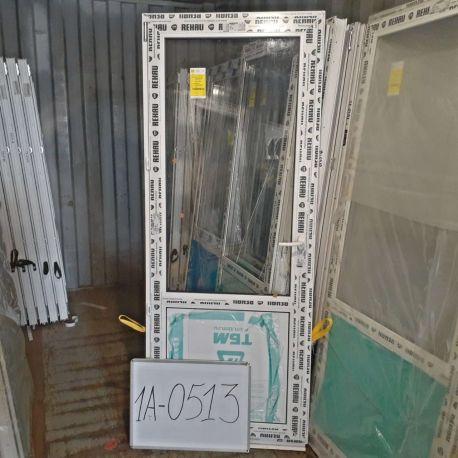 Пластиковые Двери 2000(в) х 800(ш) Балконные Готовые Стекло/Сэндвич REHAU