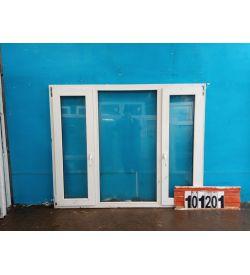 Пластиковые Окна Б/У 1430(в) х 1750(ш)