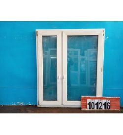 Пластиковые Окна БУ 1550(в) х 1320(ш)