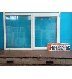 Пластиковые Окна БУ 1300(в) х 1980(ш) Некондиция