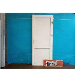 Пластиковые Двери Б/У 2200(в) х 700(ш) Входные Сэндвич-панель