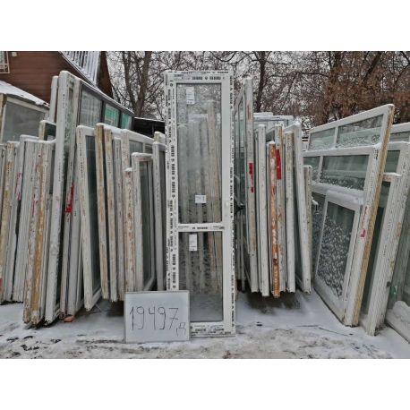 Пластиковые Двери 2360(в) х 620(ш) Балконные