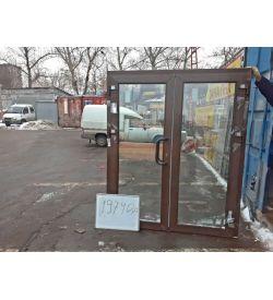 Пластиковые Двери Б/У 2000(в) х 1670(ш) Входные