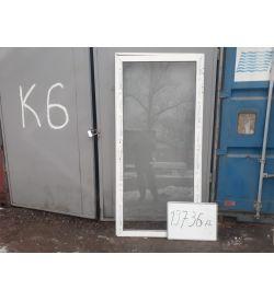 Алюминиевые Двери Б/У 2170(в) х 1020(ш) Межкомнатные