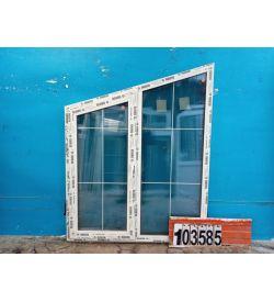 Пластиковые Окна 1620(в) х 1300(ш) REHAU Трапециевидные
