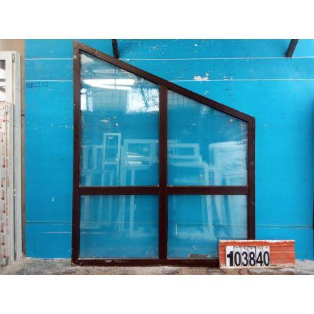 Пластиковые Окна Б/У 2320(в) х 1860(ш) Трапециевидные