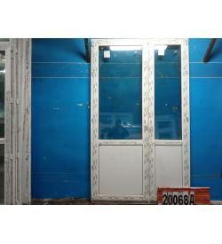 Пластиковые Двери Б/У 2450(в) х 1460(ш) Балконные