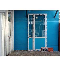 Пластиковые Двери Б/У 2360(в) х 1230(ш) Балконные