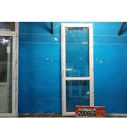 Пластиковые Двери Б/У 2410(в) х 830(ш) Балконные KBE