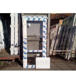 Двери Готовые Пластиковые 2050(в) х 950(ш) Входные Стекло/стекло PROPLEX