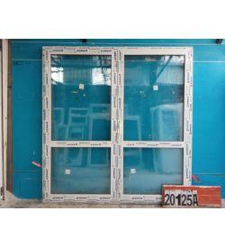 Пластиковые Двери Б/У 2040(в) х 1960(ш) Балконные Штульповые