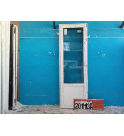 Пластиковые Двери Б/У 2250(в) х 750(ш) Балконные