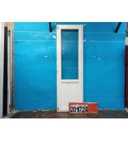 Деревянные Двери Б/У 2300(в) х 700(ш) Балконные