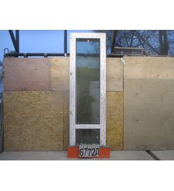 Двери KBE Балконные Пластиковые 2360 (в) х 700 (ш)