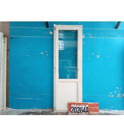 Двери Деревянные Б/У 2180(в) х 720(ш) Балконные