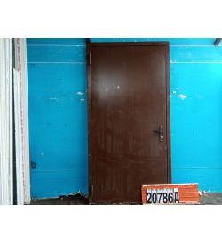 Двери Металлические Б/У 2110(в) х 1010(ш) Входные