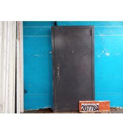Двери Металлические Б/У 2080(в) х 970(ш) Входные